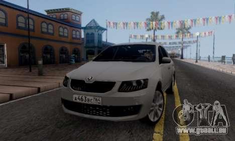 Skoda Octavia A7 pour GTA San Andreas