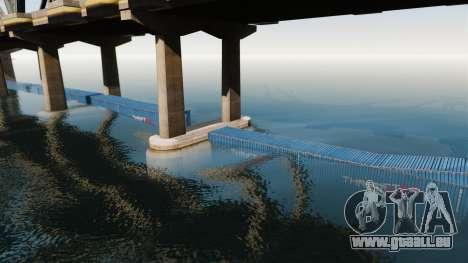Die Straße unter der Brücke für GTA 4 weiter Screenshot