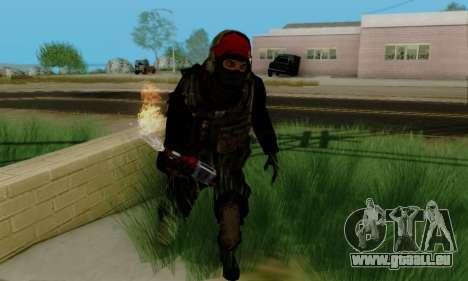 Kopassus Skin 1 pour GTA San Andreas cinquième écran