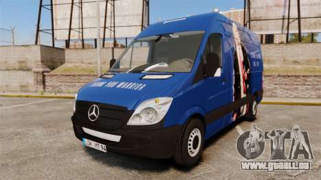 Mercedes-Benz Sprinter 2011 WWE Ultimate Warrior für GTA 4