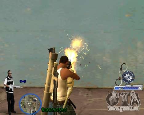 C-HUD For Police Departament pour GTA San Andreas troisième écran