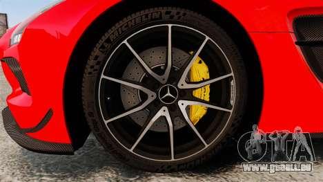 Mercedes-Benz SLS 2014 AMG UAE Theme für GTA 4 Rückansicht