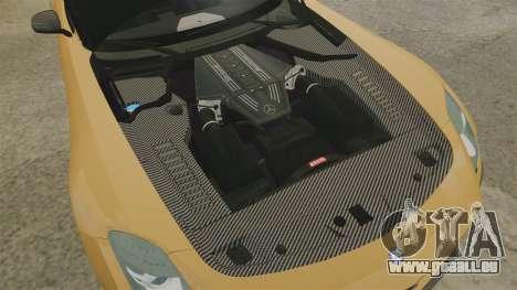 Mercedes-Benz SLS 2014 AMG Performance Studio pour GTA 4 est une vue de l'intérieur