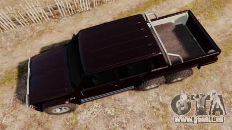 Jeep Carver 6X6 für GTA 4 rechte Ansicht