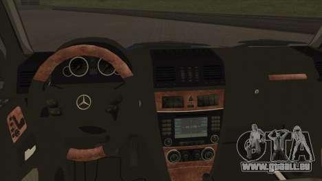 Mercedes-Benz G63 AMG 6X6 pour GTA San Andreas vue de côté