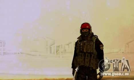 Kopassus Skin 1 pour GTA San Andreas troisième écran