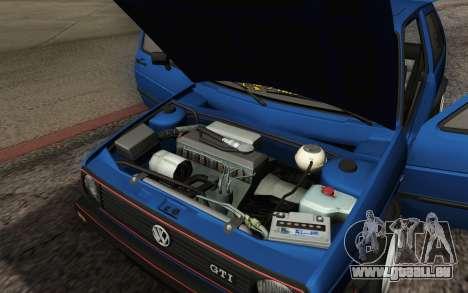 Volkswagen Golf MK2 LowStance für GTA San Andreas Unteransicht