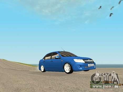 VAZ 2190 pour GTA San Andreas vue de droite