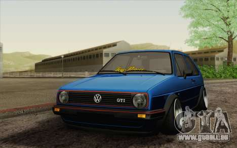 Volkswagen Golf MK2 LowStance pour GTA San Andreas