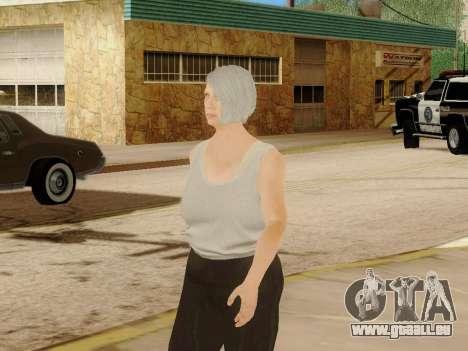 Femme âgée pour GTA San Andreas sixième écran