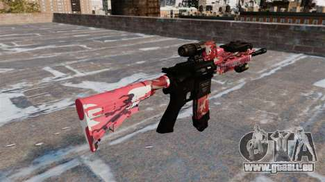 Automatische Gewehr Colt M4A1 für GTA 4 Sekunden Bildschirm