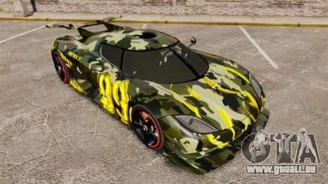 Koenigsegg One:1 für GTA 4 Innenansicht