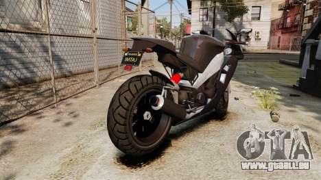 GTA V Nagasaki Carbon RS für GTA 4 rechte Ansicht