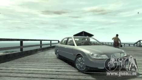 Daewoo Shiraz pour GTA 4 Vue arrière de la gauche