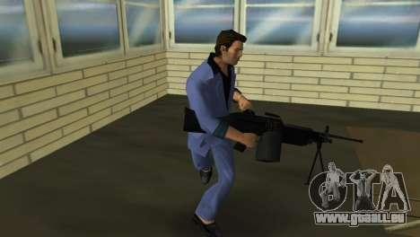 M249 из Battlefield 2 pour le quatrième écran GTA Vice City