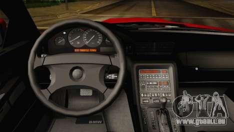 BMW M8 Custom pour GTA San Andreas vue de droite
