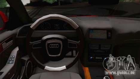 Audi Q5 2012 pour GTA San Andreas vue de droite