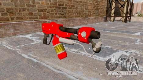 Le lance-flammes MX-295 pour GTA 4