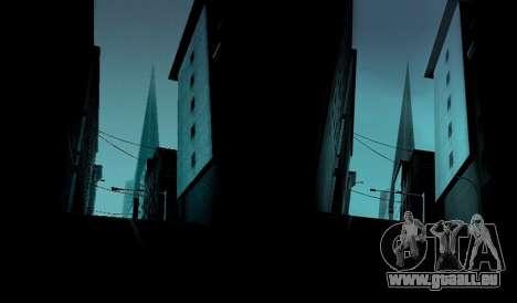 HD + Karten, radar-und Menü für GTA San Andreas dritten Screenshot