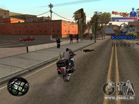 Le nouveau C-HUD Ghetto pour GTA San Andreas