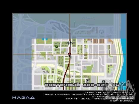 AutoDriver pour GTA San Andreas deuxième écran