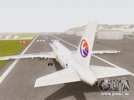 Airbus A320-211 China Eastern für GTA San Andreas