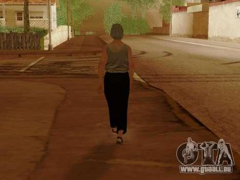 Femme âgée pour GTA San Andreas huitième écran
