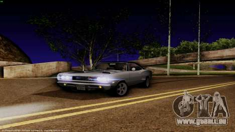 Dodge Coronet RT 1969 440 Six-pack pour GTA San Andreas