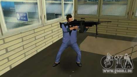 M249 из Battlefield 2 pour GTA Vice City