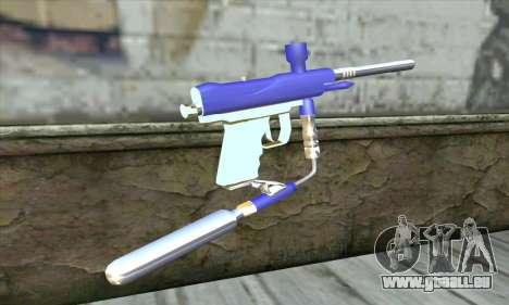 Paintball Gun pour GTA San Andreas deuxième écran