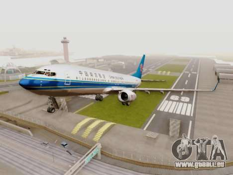 China Southern Airlines Boeing 737-800 für GTA San Andreas linke Ansicht