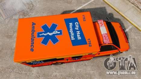 Brute CHH Ambulance für GTA 4 rechte Ansicht
