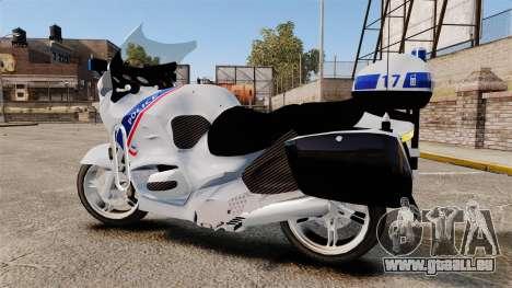 BMW R1150RT Police nationale [ELS] für GTA 4 linke Ansicht