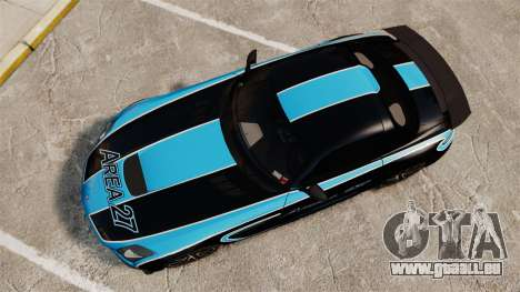 Mercedes-Benz SLS 2014 AMG Black Series Area 27 für GTA 4 rechte Ansicht