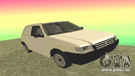 Fiat Uno Fire Cargo pour GTA San Andreas
