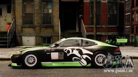 Jaguar XKR GT pour GTA 4 est une gauche