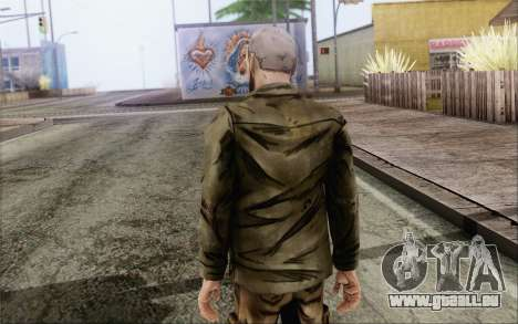 Pete from Walking Dead für GTA San Andreas zweiten Screenshot