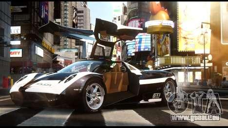 Pagani Huayra Police v1.1 für GTA 4