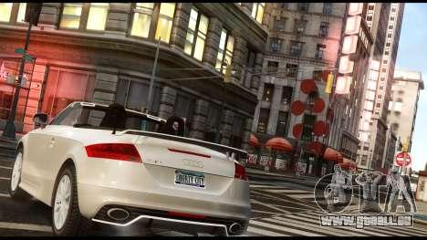 Audi TT RS v1.0 pour GTA 4 est une gauche