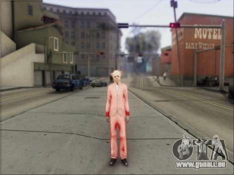 GTA V Masks pour GTA San Andreas deuxième écran