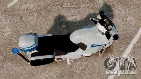 BMW R1150RT Police municipale [ELS] für GTA 4 rechte Ansicht