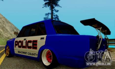 VAZ 2107 Drift für GTA San Andreas linke Ansicht