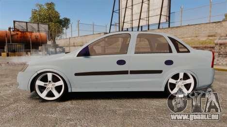 Chevrolet Corsa Premium Sedan pour GTA 4 est une gauche