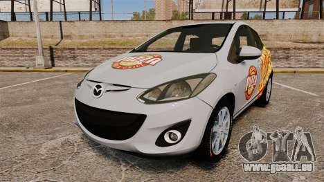 Mazda 2 Pizza Delivery 2011 für GTA 4