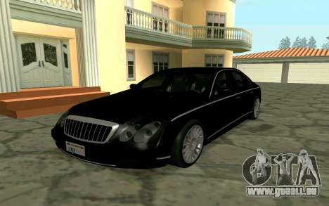 Maybach 57 TT Black Revel für GTA San Andreas