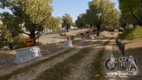 Rallye de la piste pour GTA 4 secondes d'écran