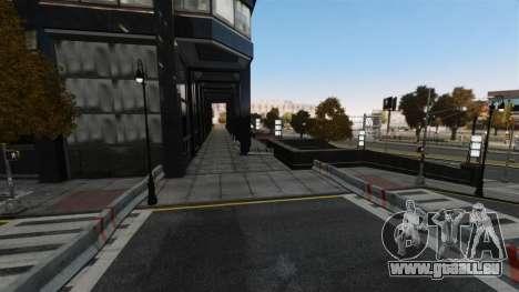 Illégales de la rue de la dérive de la piste pour GTA 4 cinquième écran