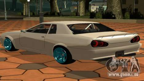 Elegy AssemblY für GTA San Andreas linke Ansicht