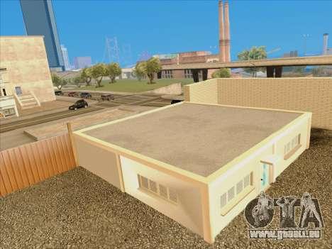 Mise à jour des textures à l'école de conduite pour GTA San Andreas quatrième écran