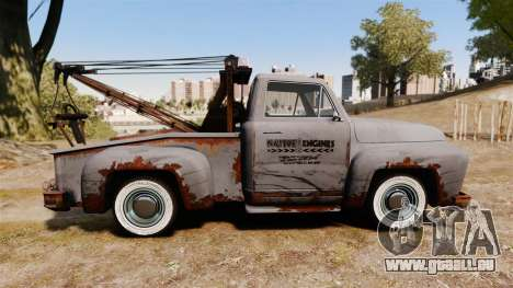 GTA IV TLAD Vapid Tow Truck für GTA 4 linke Ansicht